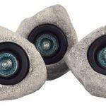 Set 3 faretti sommergibili - forma roccia